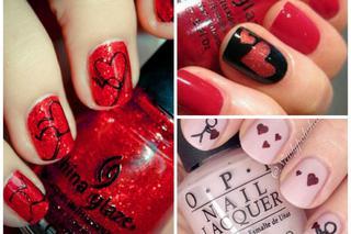 Manicure Na Walentynki 2015 Jakie Wzory I Kolory Na Paznokciach