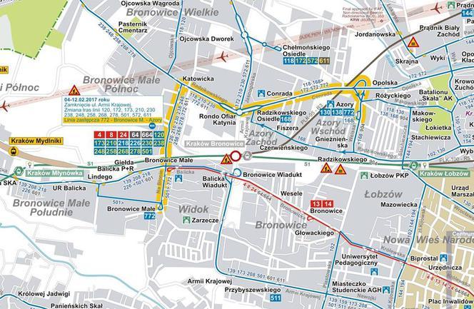 Zamkniecie Armii Krajowej Sprawdz Ktoredy Pojada Autobusy Mapa