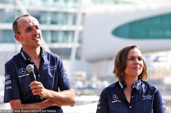 Robert Kubica, Claire Williams