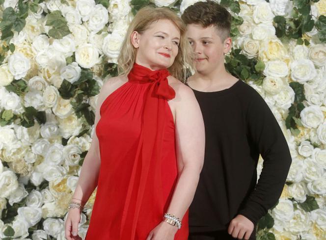 Gwiazda dramat M o miłości.  Dominika Ostałowska w trudnym stanie psychicznym.  Chodzi także o jej syna