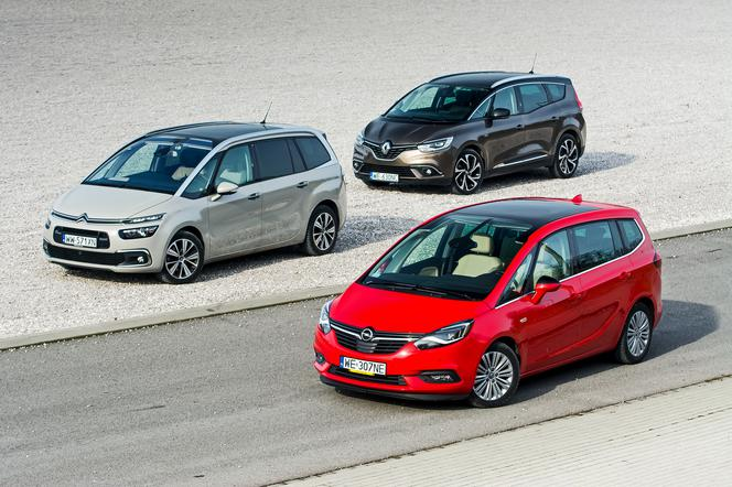 Citroen c4 grand picasso vs renault grand scenic