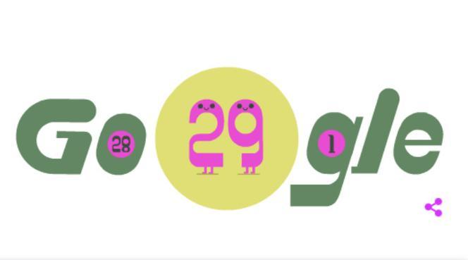 Rok przestępny w Google Doodle 29.02.2020 - co to jest i co oznacza? - ESKA.pl
