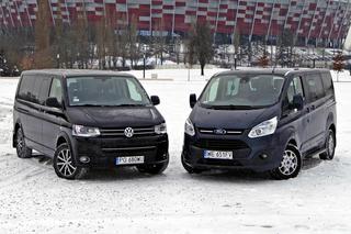 Test Ford Tourneo Custom Kontra Volkswagen Multivan