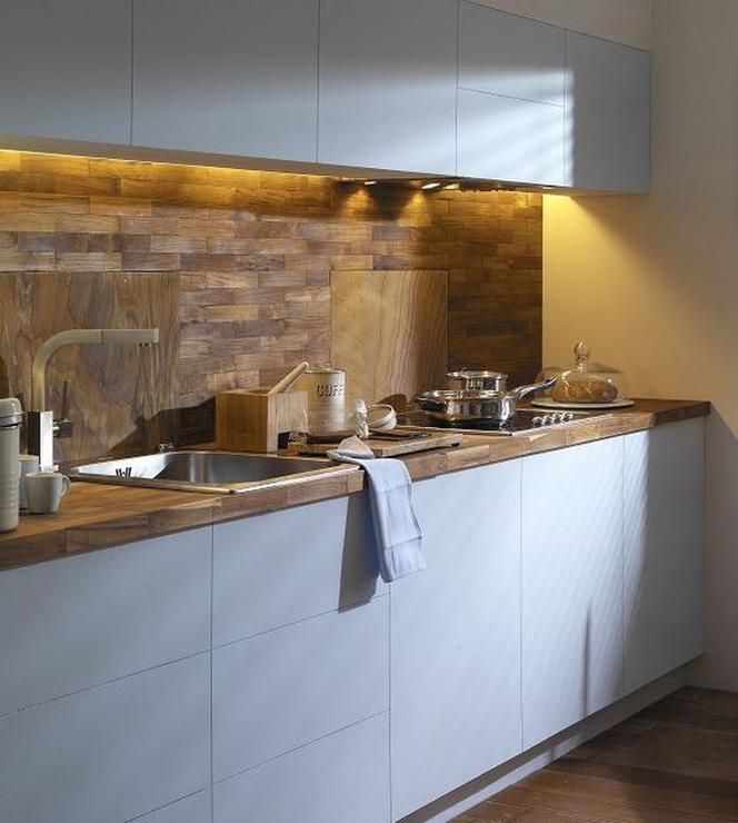 ładna Kuchnia Jakie Materiały Idealnie Nadają Się Na ścianę