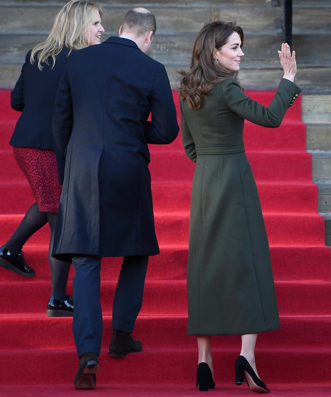Kate Middleton i książę William