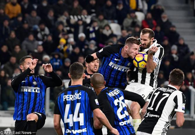 3ded29450 Horror w derbach Włoch na San Siro. Juventus uciekł spod topora i ograł  Inter!