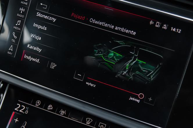 Test Audi Q8 50 Tdi 30 V6 286 Km Podróżowanie W Nowym