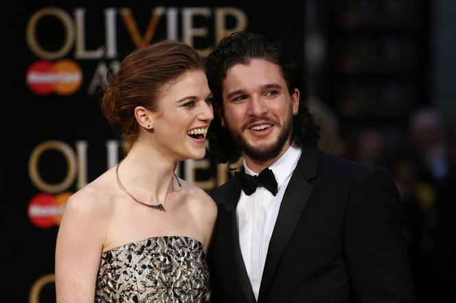 Gra O Tron Kit Harington I Rose Leslie Biorą ślub Jon Snow I