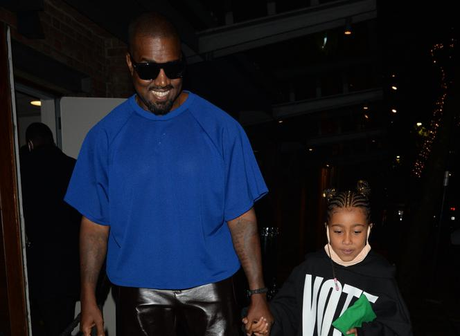 Kanye West i North West