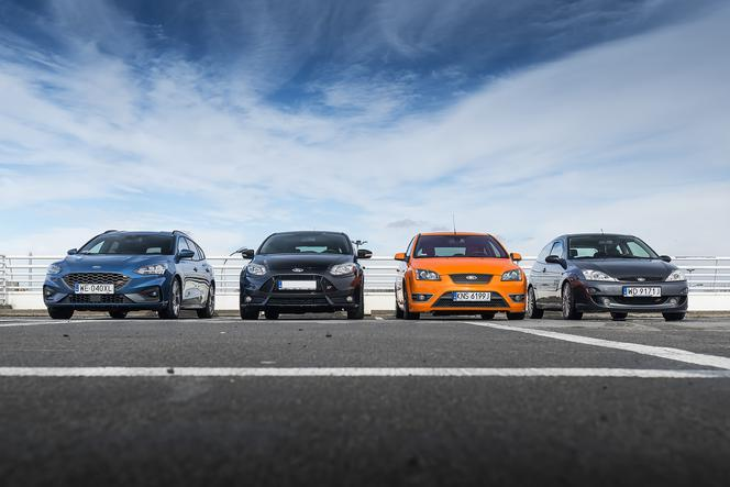 Ford Focus ST - cztery generacje hot-hatcha