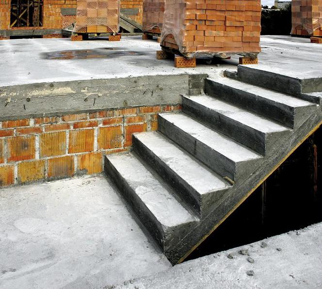 Schody Betonowe Bez Błędów Budowa I Wykończenie Schodów
