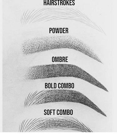 Metody makijażu permanentnego brwi