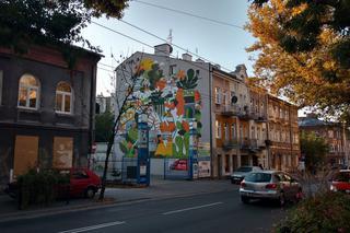 Nowy Mural W Lublinie Lubartowska Robi Się Kolorowa