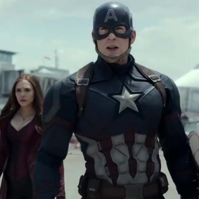 Młodszy brat aktora, Scott. Chris Evans Kapitanem Ameryką.