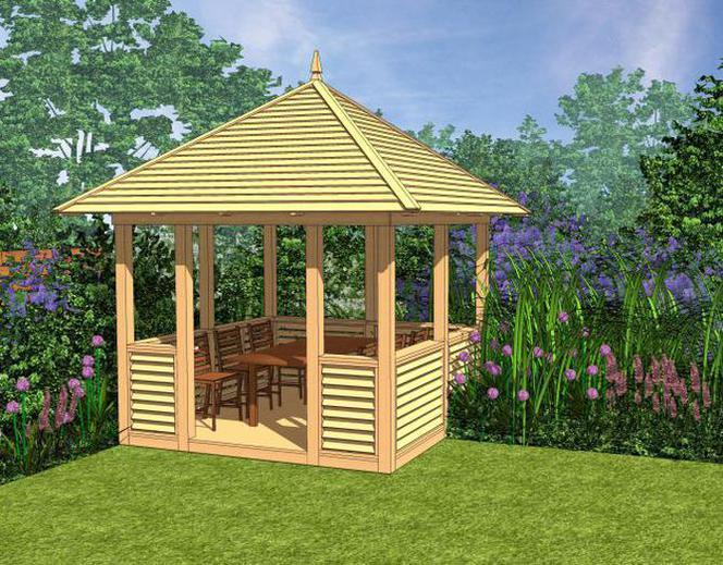 Gotowe Projekty Altan Ogrodowych Q Housepl