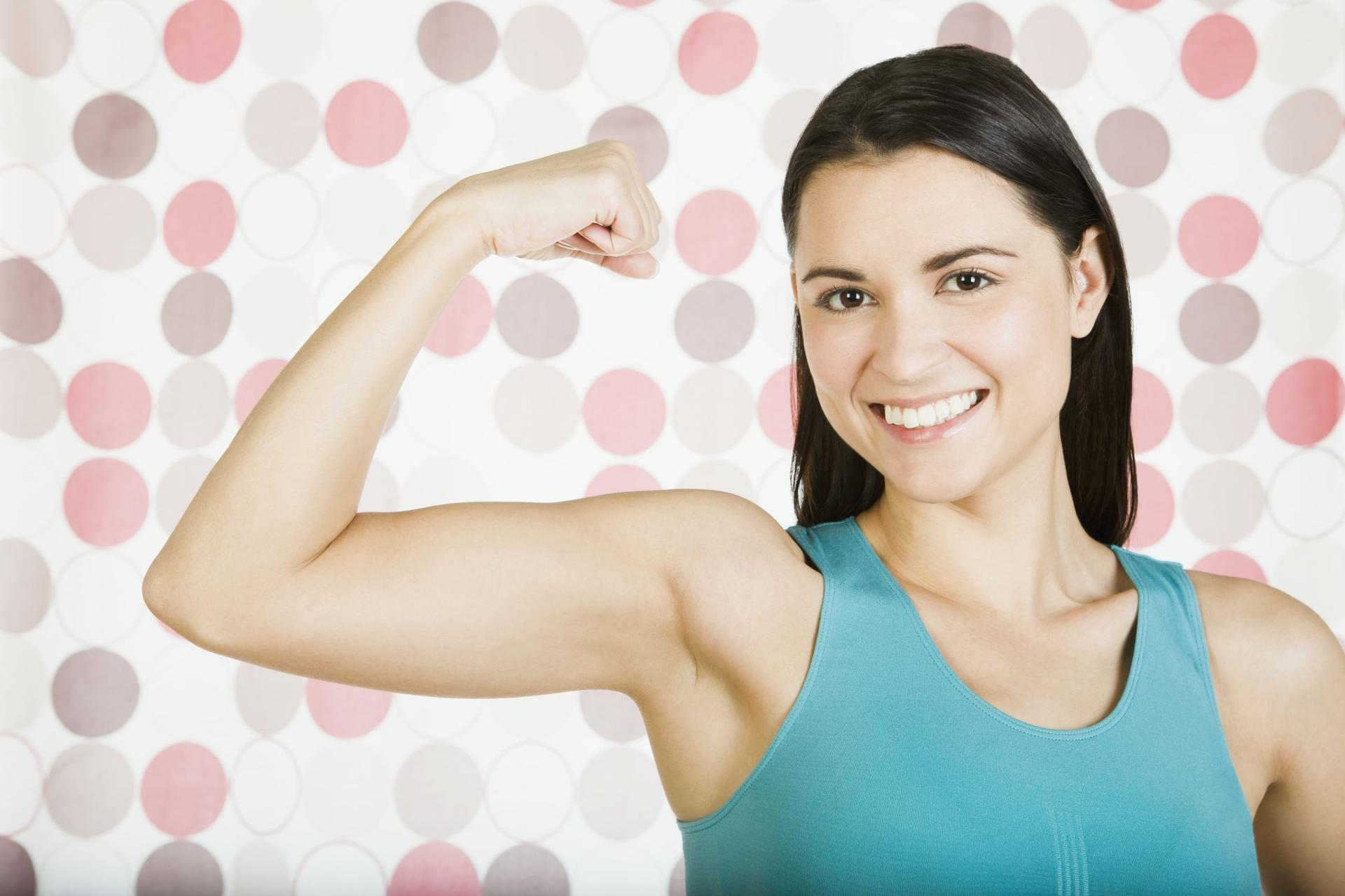 Как заставить похудеть руки