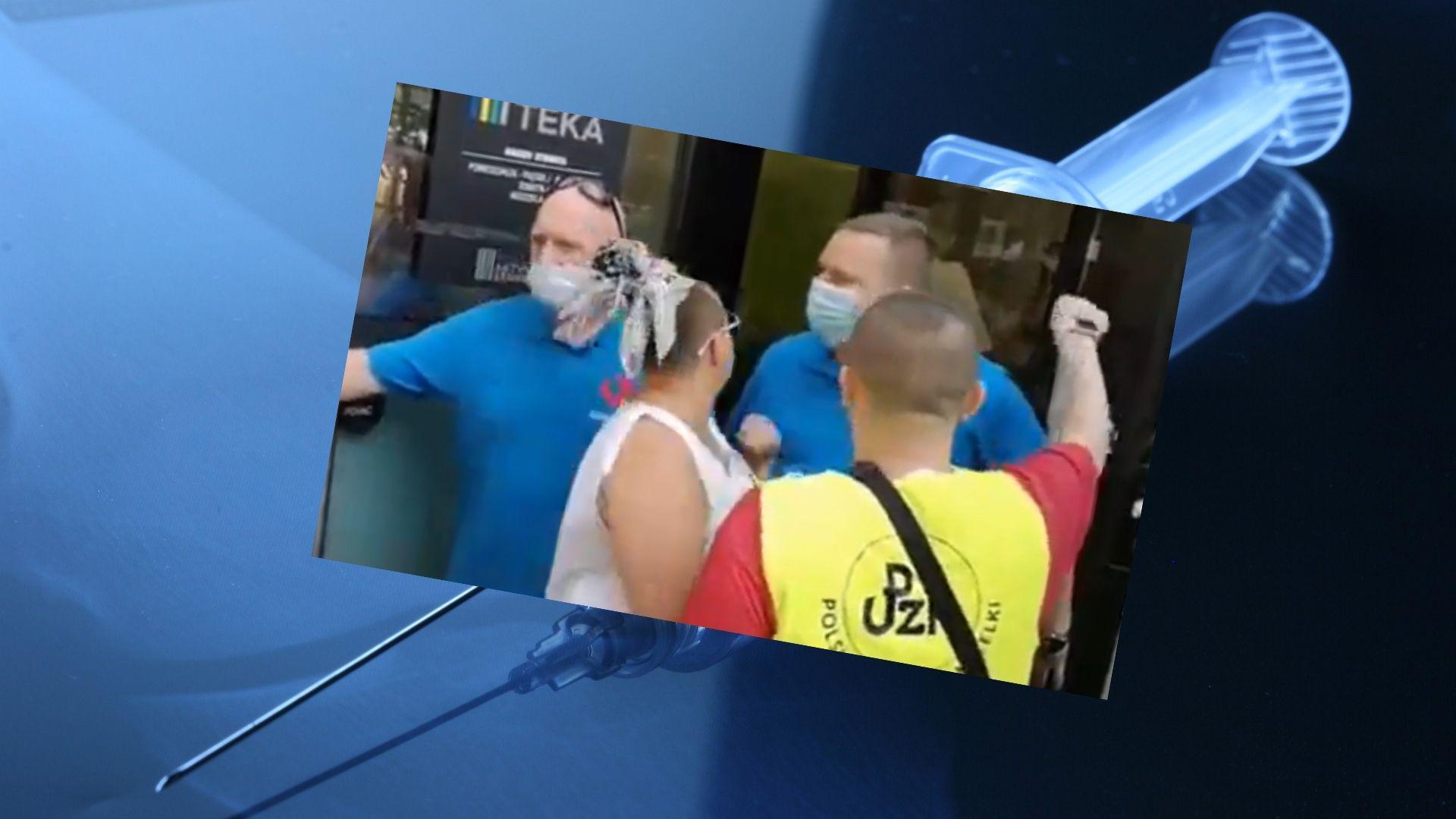Grodzisk Mazowiecki: antyszczepionkowcy szturmowali punkt szczepień - doszło do rękoczynów! - Warszawa, ESKA.pl