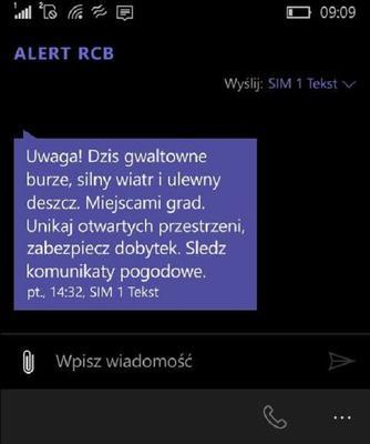 ALERT RCB - co to za alarm pogodowy? - ESKA.pl