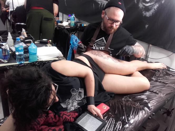 Konwent Tatuażu W łódzkiej Hali Expo Super Express
