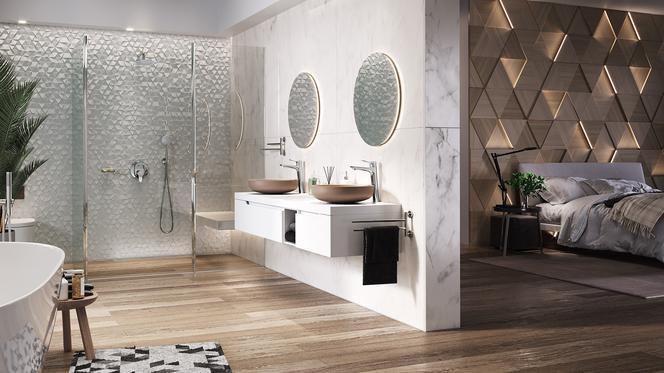 łazienka Połączona Z Sypialnią Wyższy Wymiar Komfortu