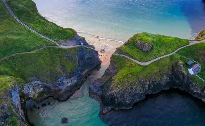 Most linowy Carrick-a-Rede