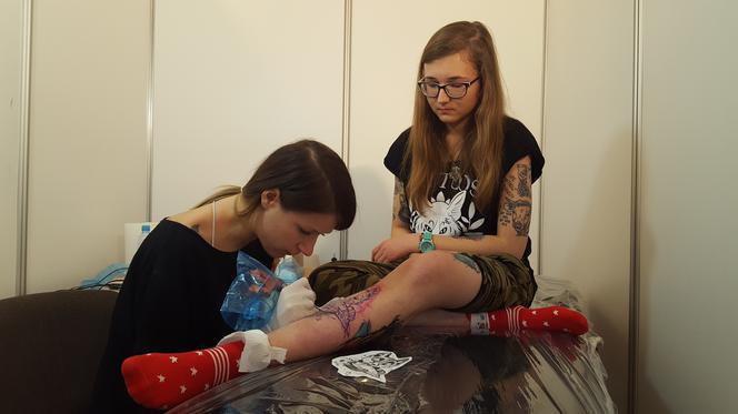 Kampania Tatuaże Zamiast Futra W Ramach łódzkiej Veganmanii