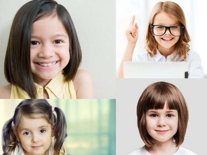 Krótkie Fryzury Dla Dziewczynek Niezwykle Dziewczęce