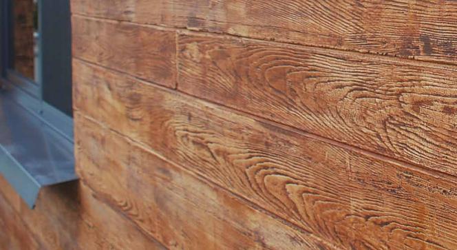Tynki Dekoracyjne O Wyglądzie Naturalnego Drewna Kamienia