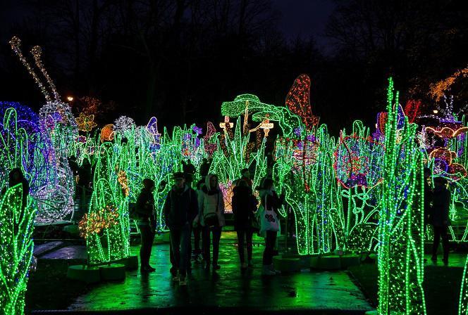 Królewski Ogród światła Wilanów 2018 Otwarcie Bilety