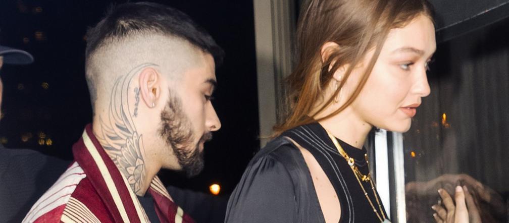 "Gigi Hadid i Zayn Malik na słodkim zdjęciu! Modelka chwali się ""tatusiem dzidziusia""! - ESKA.pl"