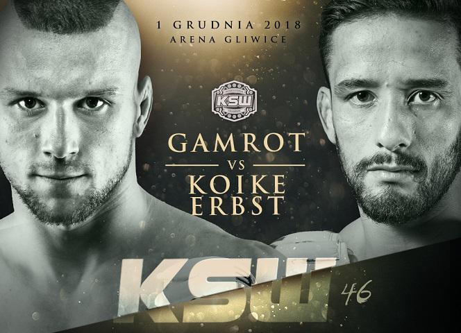 KSW 46 Gamrot vs Koike Erbst