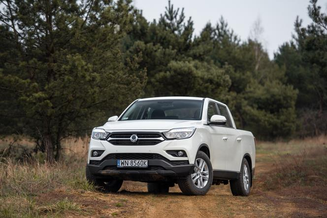 SsangYong Musso Quartz Diesel 2.2 4WD 6AT