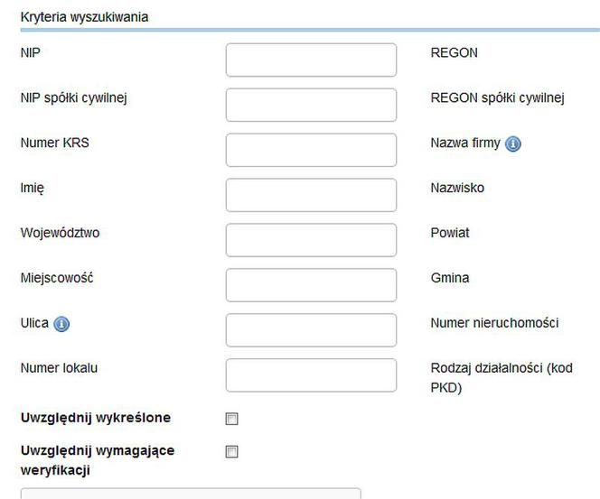 Wystarczy zarejestrować rejestr