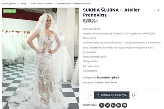 c659aacce6 Doda sprzedaje swoją suknię ślubną. Cena zwala z nóg - Super Express