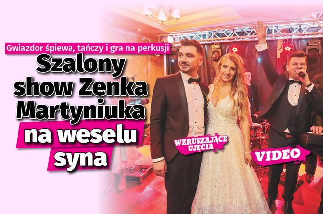 Show Maryniuka Na Weselu Syna Zenek śpiewa Tańczy I Gra Na