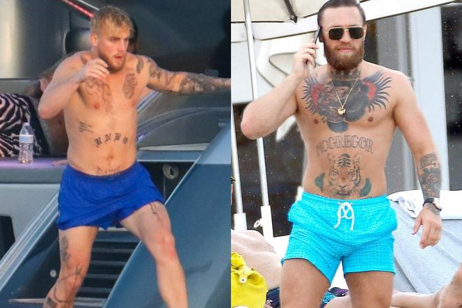 Jake Paul i Conor Mcgregor