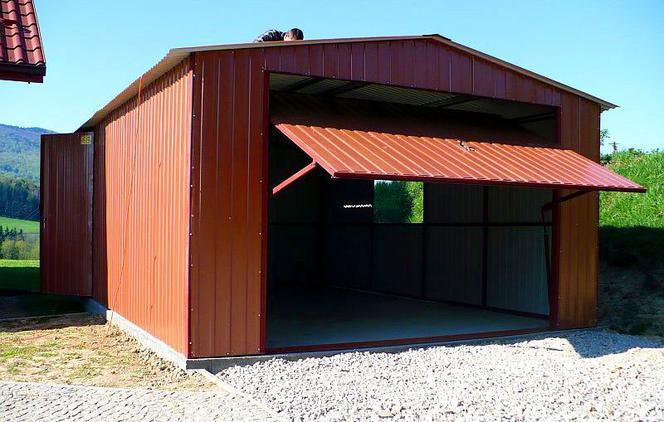 Chłodny Garaż blaszany. Wybieramy lekki garaż z blachy - murator.pl HF91