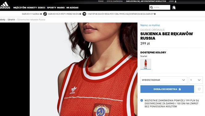 Skandaliczna Oferta Adidasa Sprzedaje Koszulki Z Sierpem I Młotem Zdjęcia Super Express