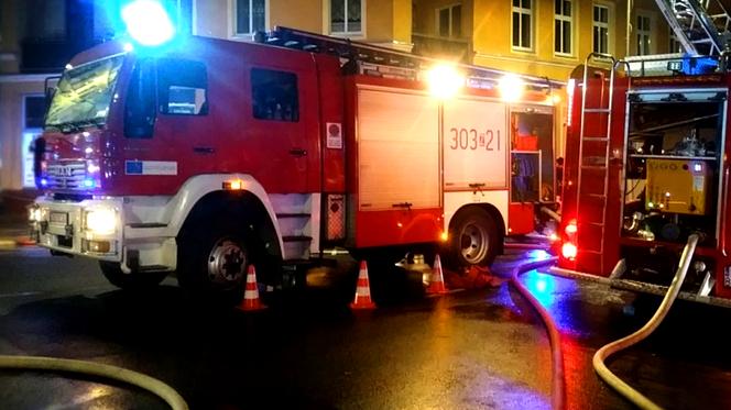 Ewakuacja Złotych Tarasów Strażacy W Akcji Przerwana