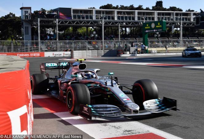 GP Azerbejdżanu  Mercedes z kolejnym dubletem! Valtteri Bottas