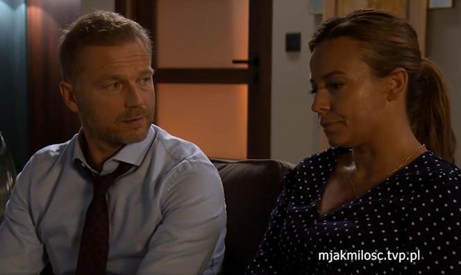 M jak miłość: Andrzej Budzyński (Krystian Wieczorek), Magda (Anna Mucha)