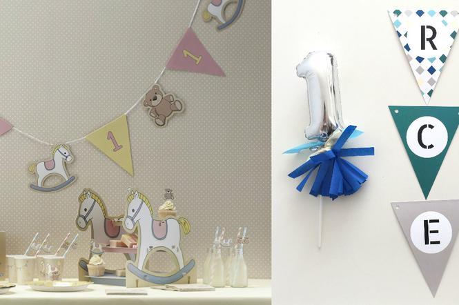 ee054e5eefdf48 Dekoracje na roczek: jakie dekoracje wybrać na pierwsze urodziny ...