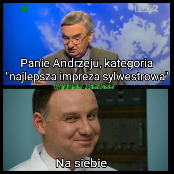 Sylwester 2019. Impreza u Andrzeja Dudy? A może z Polsatem ...