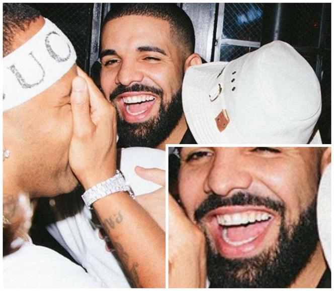 Drake Ma W Zębach Diament Fani Myśleli że To Brud