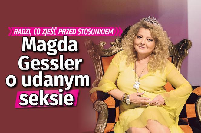Magda Gessler Zdradza Jak Mieć Dobry Seks Trzeba