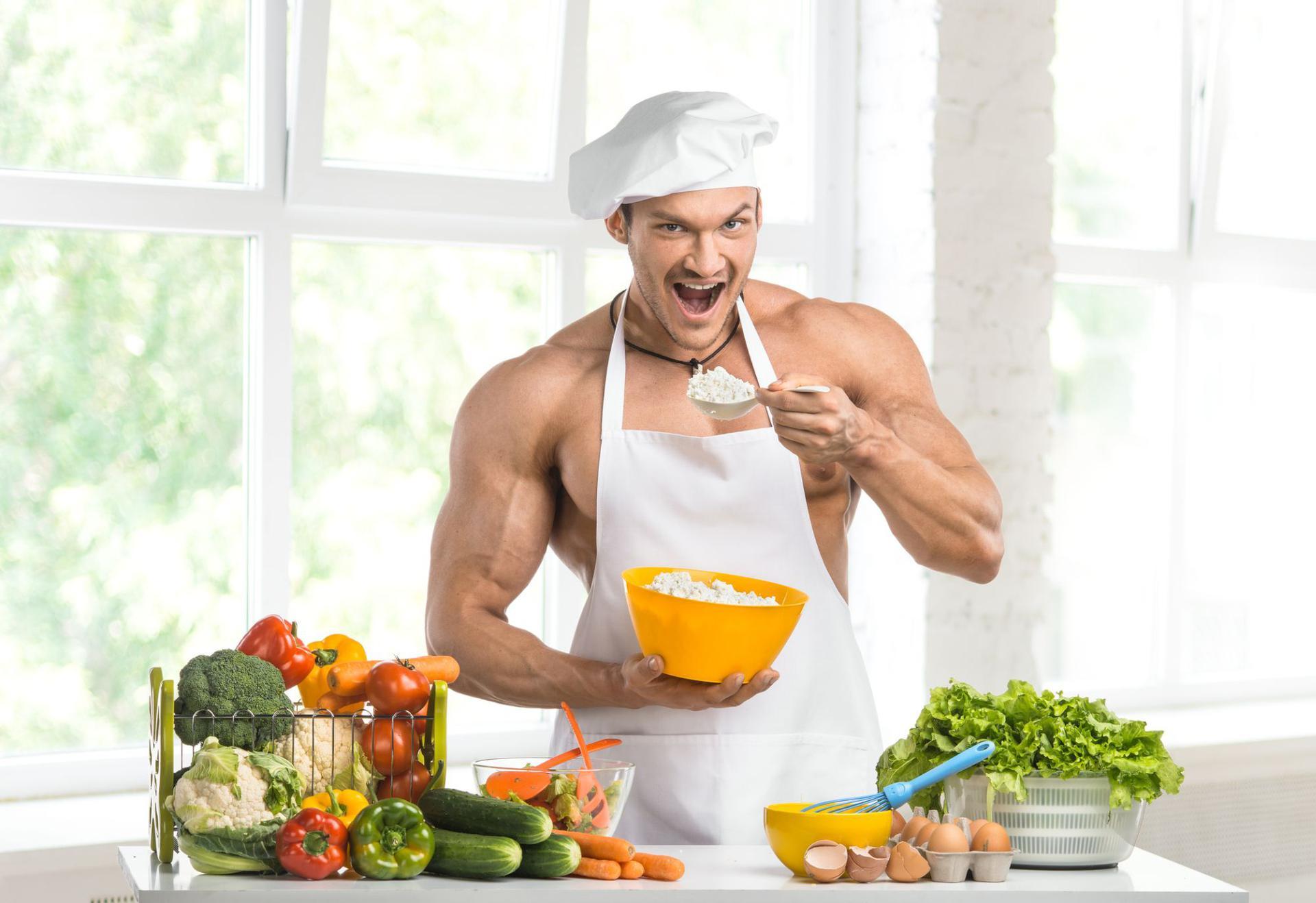 Program de alimentație pentru sală: cum să mănânci corect pentru a crește masa musculară