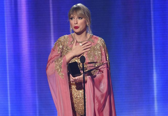 Taylor Swift na gali AMAs 2019