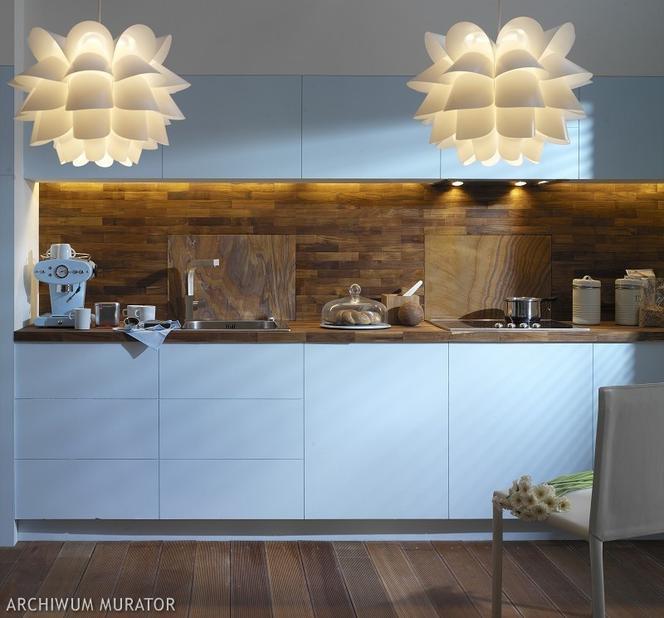 Niebieski Kolor W Kuchni Niebieska Kuchnia Z Lakierowanymi