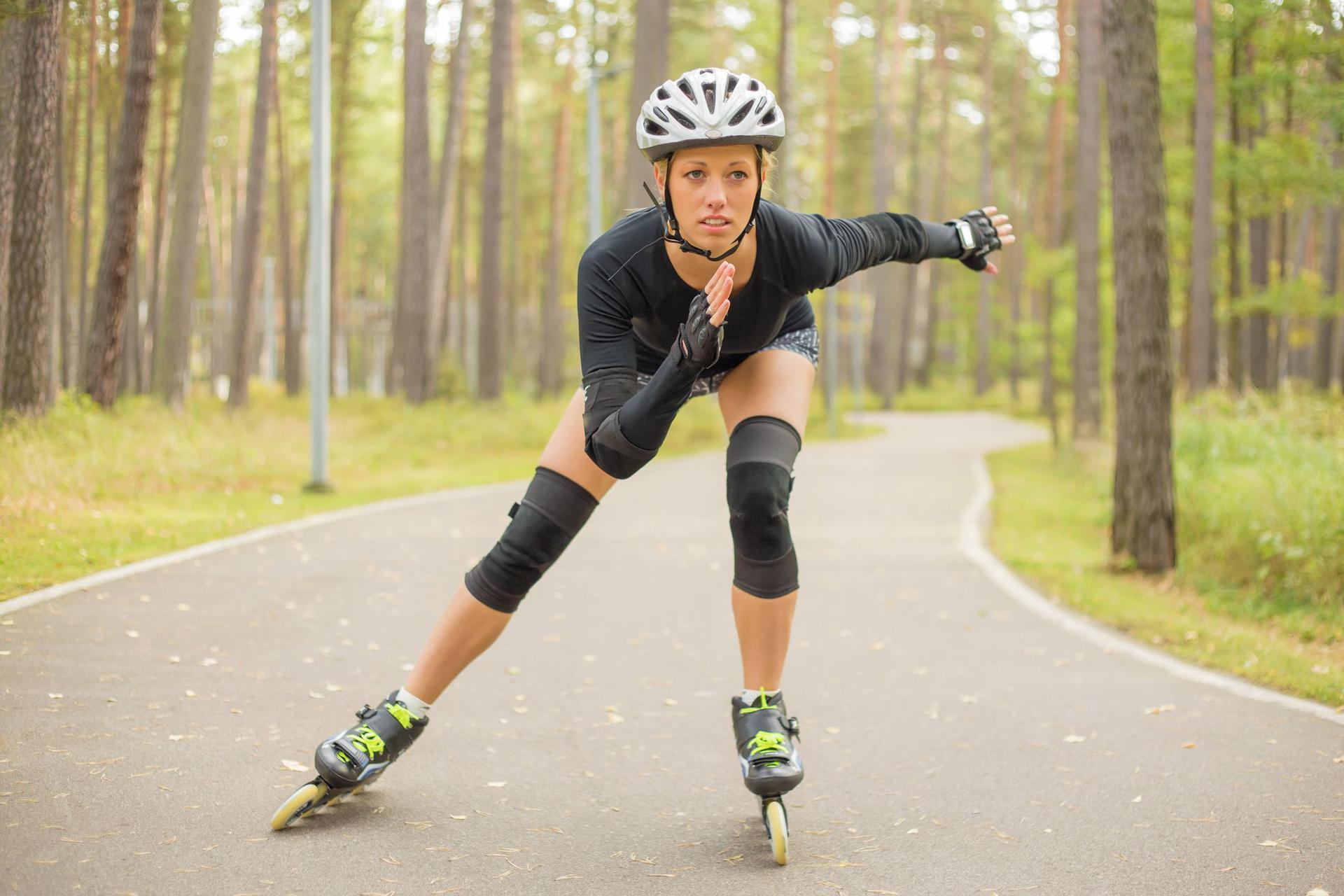 Odchudzanie na rolkach: ile kalorii można spalić jeżdżąc na rolkach?