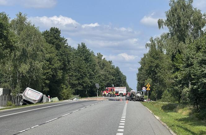 Un monstruoso accidente en Grębiszewo.  La familia murió